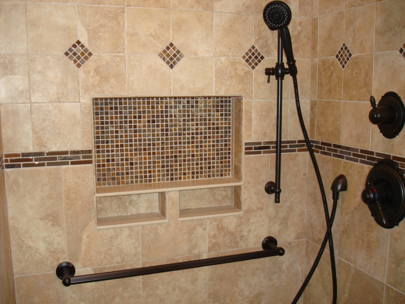 Shower floor systems for tiling